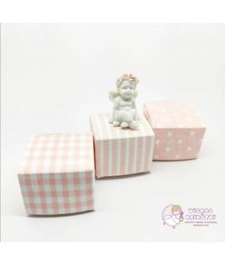 Rožinė dovanų dėžutė maža