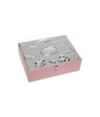 Saugojimo dėžutė Rožinė