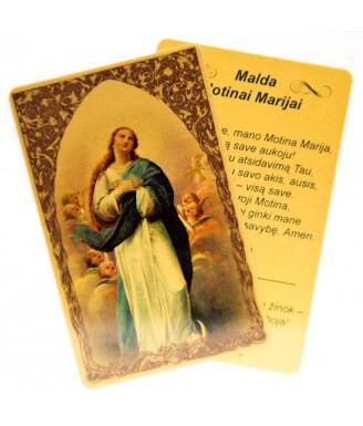 Maldos kortelė Švč....