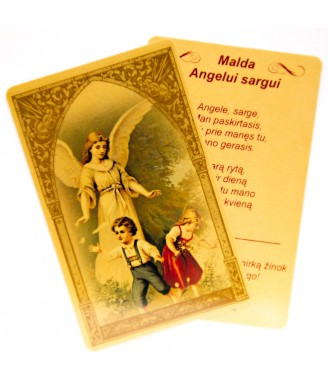 Maldos kortelė Angelui sargui