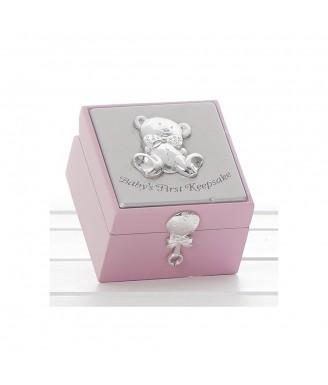 Maža saugojimo dėžutė, rožinė