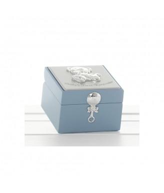 Maža saugojimo dėžutė, žydra