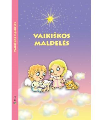 """Knyga """"Vaikiškos maldelės"""""""