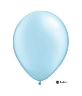 Žydras perlamutrinis balionas