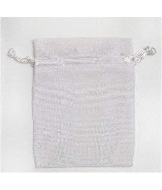 Baltas drobinis maišelis...