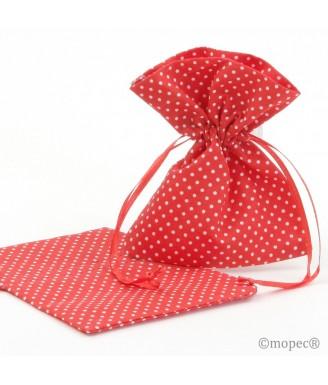 Raudonas maišelis Žirniukai