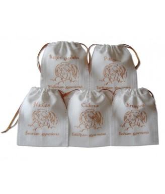 Lininiai maišeliai...