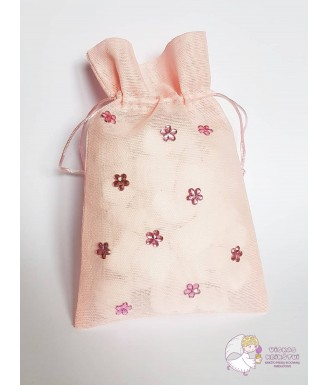 Rožinis drobinis maišelis,...