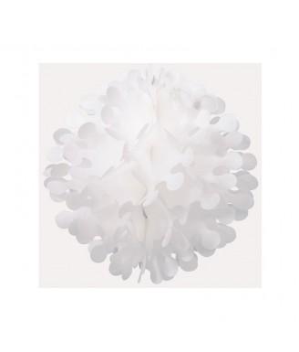 Baltas karpytas burbulas